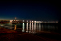Busselton Jetty at night